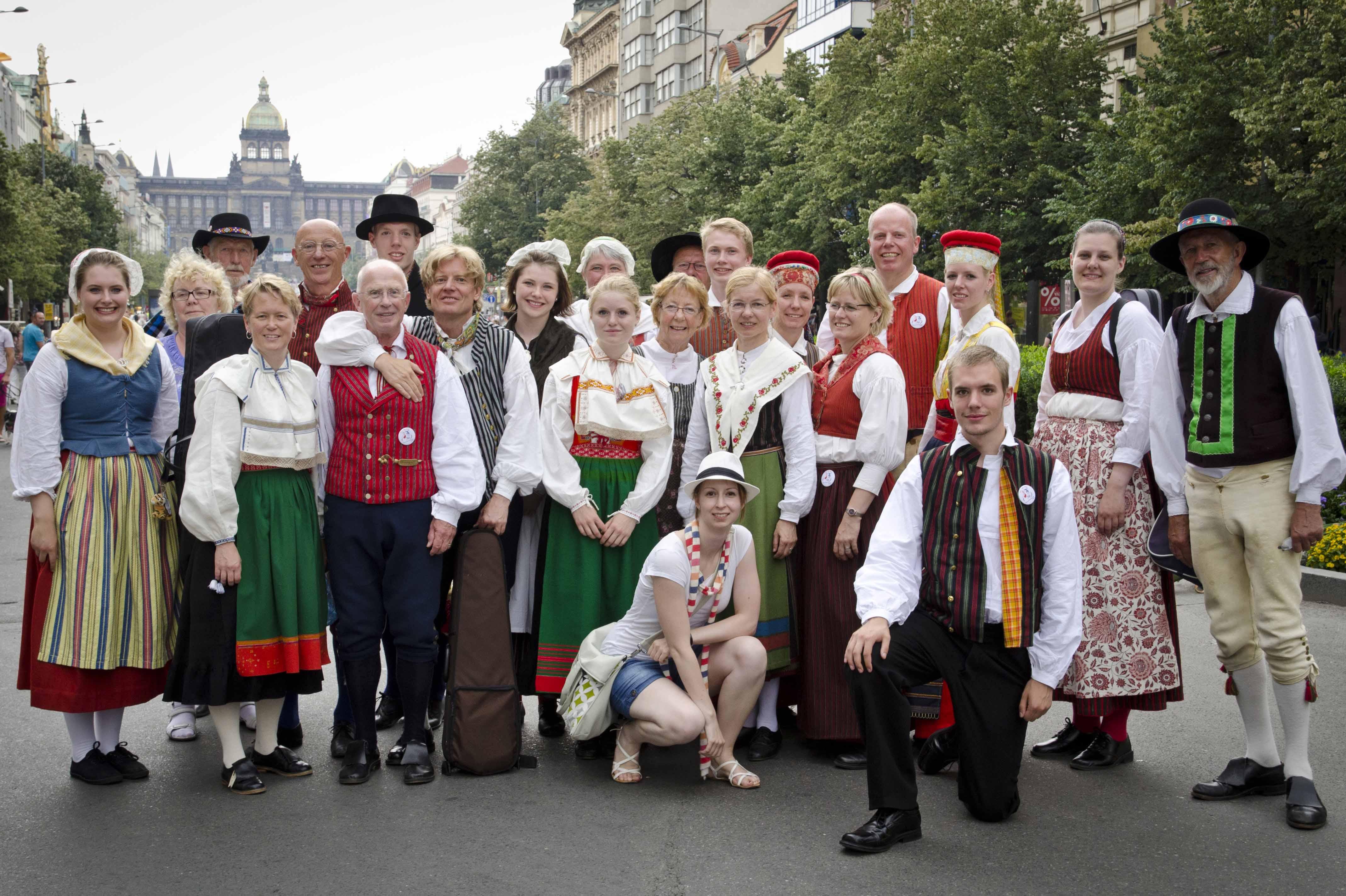 VFF gruppfoto Prag